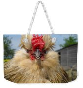 Bad Tempered Bearded Bantam Weekender Tote Bag