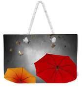Bad Weather Weekender Tote Bag