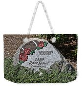 Badger Rose Bowl Win 1999 Weekender Tote Bag