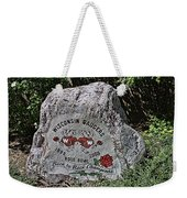 Badgers Rose Bowl Win 2000 Weekender Tote Bag