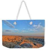 Badlands Evening Weekender Tote Bag