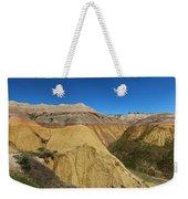 Badlands Panorama Weekender Tote Bag