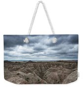 Badlands White River Valley  Weekender Tote Bag
