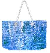 Baffling Blue Water Weekender Tote Bag