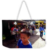 Bag Helper In Baguio Weekender Tote Bag