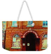 Bagg Street Synagogue Weekender Tote Bag