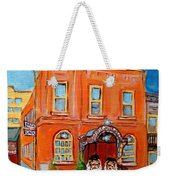 Bagg Street Synagogue Sabbath Weekender Tote Bag