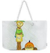 Baggs And Boo Treat Or Trick Weekender Tote Bag