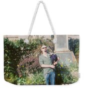 Bagpiper In Glastonbury Weekender Tote Bag