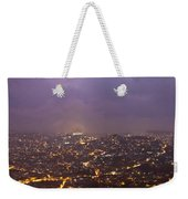 Baguio At Night Weekender Tote Bag