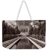 Bahai Temple Reflecting Pool Weekender Tote Bag