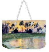 Bahama Palm Trees Weekender Tote Bag