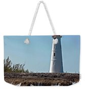 Bahamas Lighthouse Weekender Tote Bag