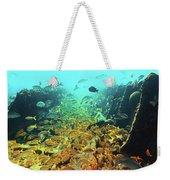 Bahamas Shipwreck Fish Weekender Tote Bag