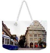 Bahnhofstrasse Zurich Weekender Tote Bag