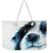 Bailey Our Border Collie Weekender Tote Bag