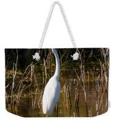 Bailey Tract Egret Two Weekender Tote Bag