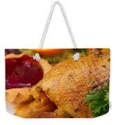 Baked Duck Weekender Tote Bag