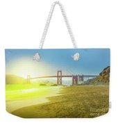 Baker Beach In San Francisco Weekender Tote Bag