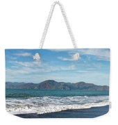 Baker Beach Panorama Weekender Tote Bag