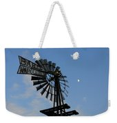 Baker Napoleon And The Moon Weekender Tote Bag