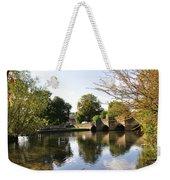 Bakewell Bridge And The River Wye Weekender Tote Bag