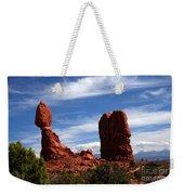 Balanced Rock Arches National Park, Moab, Utah Weekender Tote Bag