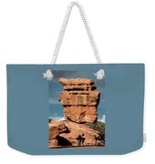 Balanced Rock At Garden Of The Gods Weekender Tote Bag