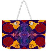 Balancing Affections Abstract Bliss Art By Omashte Weekender Tote Bag