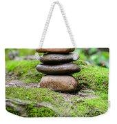 Balancing Zen Stones IIi Weekender Tote Bag