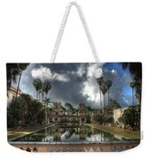Balboa Park Fountain Weekender Tote Bag
