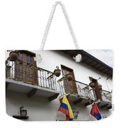 Balconies And Flags Weekender Tote Bag