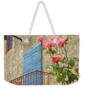 Balcony And Roses Weekender Tote Bag