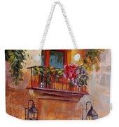 Balcony In Bloom Weekender Tote Bag