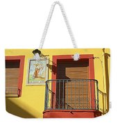 Spanish Balcony Weekender Tote Bag