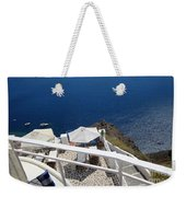 Balcony View Weekender Tote Bag