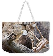 Bald Eagle - Portrait Weekender Tote Bag