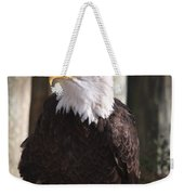 Bald Eagle Weekender Tote Bag