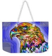 Bald Eagle Face Weekender Tote Bag