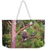 Bald Eagle Fresh Catch Weekender Tote Bag