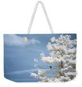 Bald Eagle In Infrared Weekender Tote Bag by Brian Hale