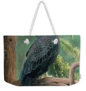 Bald Eagle In Pastel Weekender Tote Bag