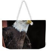 Bald Eagle Intensity Weekender Tote Bag