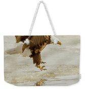 Bald Eagle Series #1 - Eagle Is Landing Weekender Tote Bag