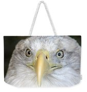 Bald Eagle Up Close Weekender Tote Bag