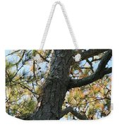 Bald Head Tree Weekender Tote Bag