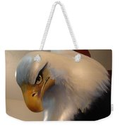 Bald-headed Eagle Sculpture Weekender Tote Bag