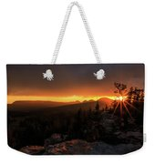 Bald Mountain Sunset Weekender Tote Bag