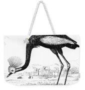 Balearic Crane Weekender Tote Bag
