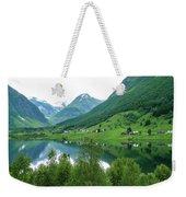 Balestrand Lake Village Weekender Tote Bag
